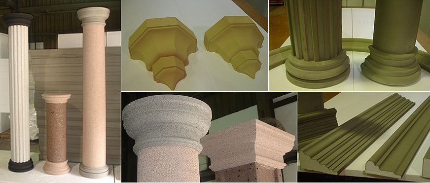 Products | Crown Molding - Manufacturer for Stucco moldings, trims
